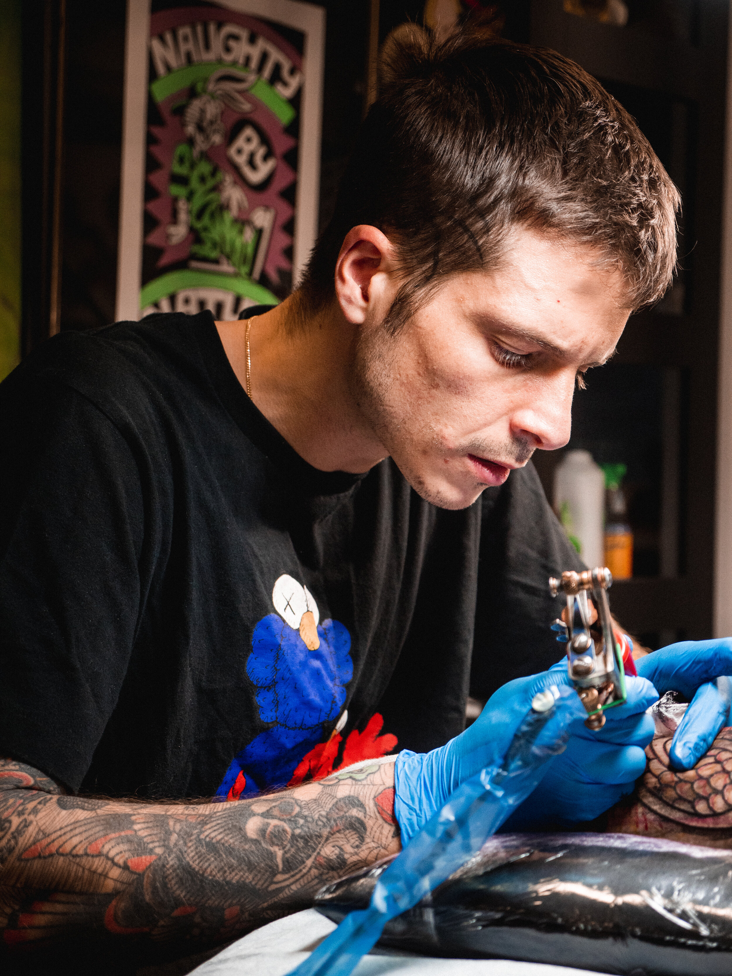 - Teide has been tattooing since 2008 and describes his work as 'Traditional Psychedelic.'Follow Teide on Instagram