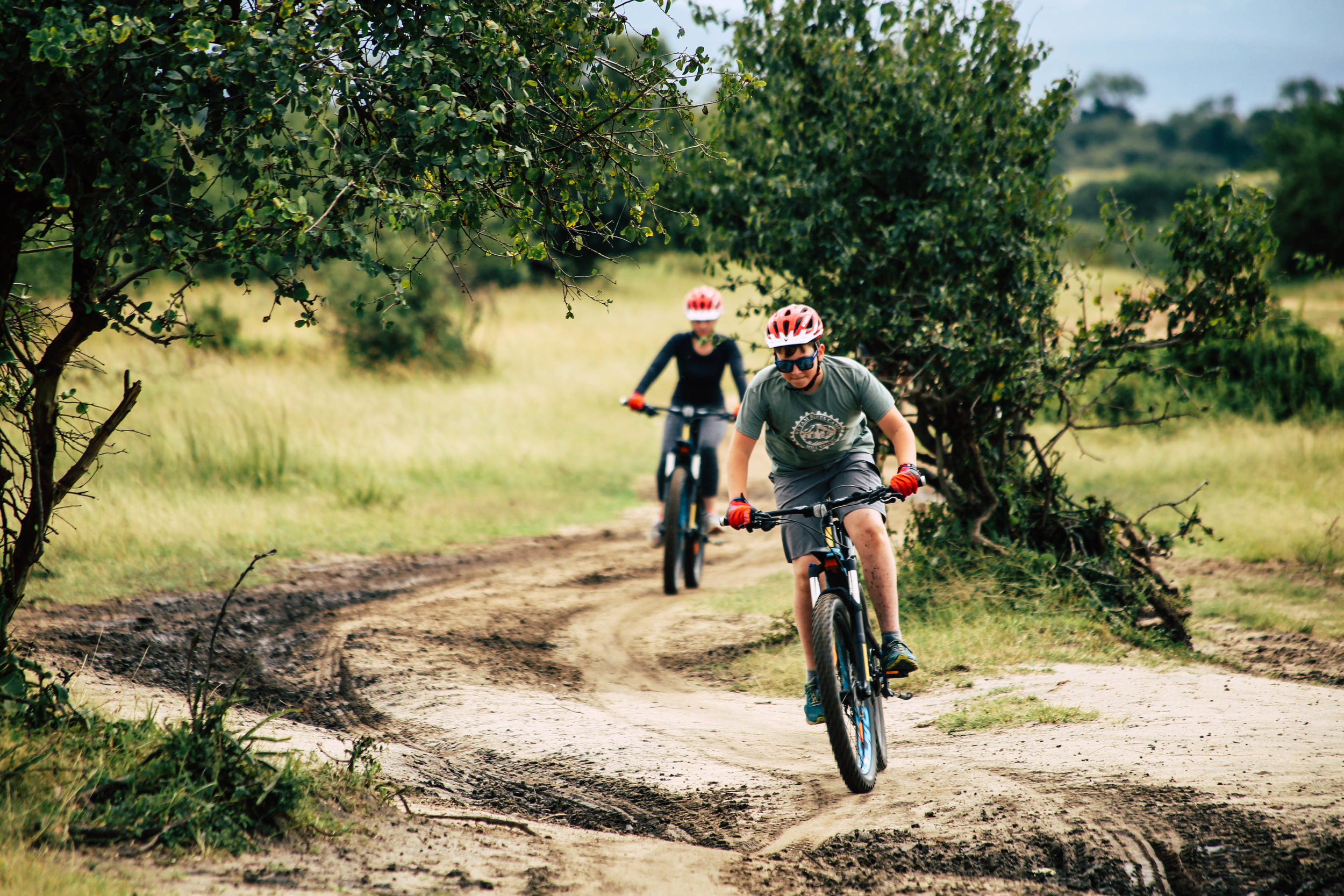 Mountain Biking Masai Mara