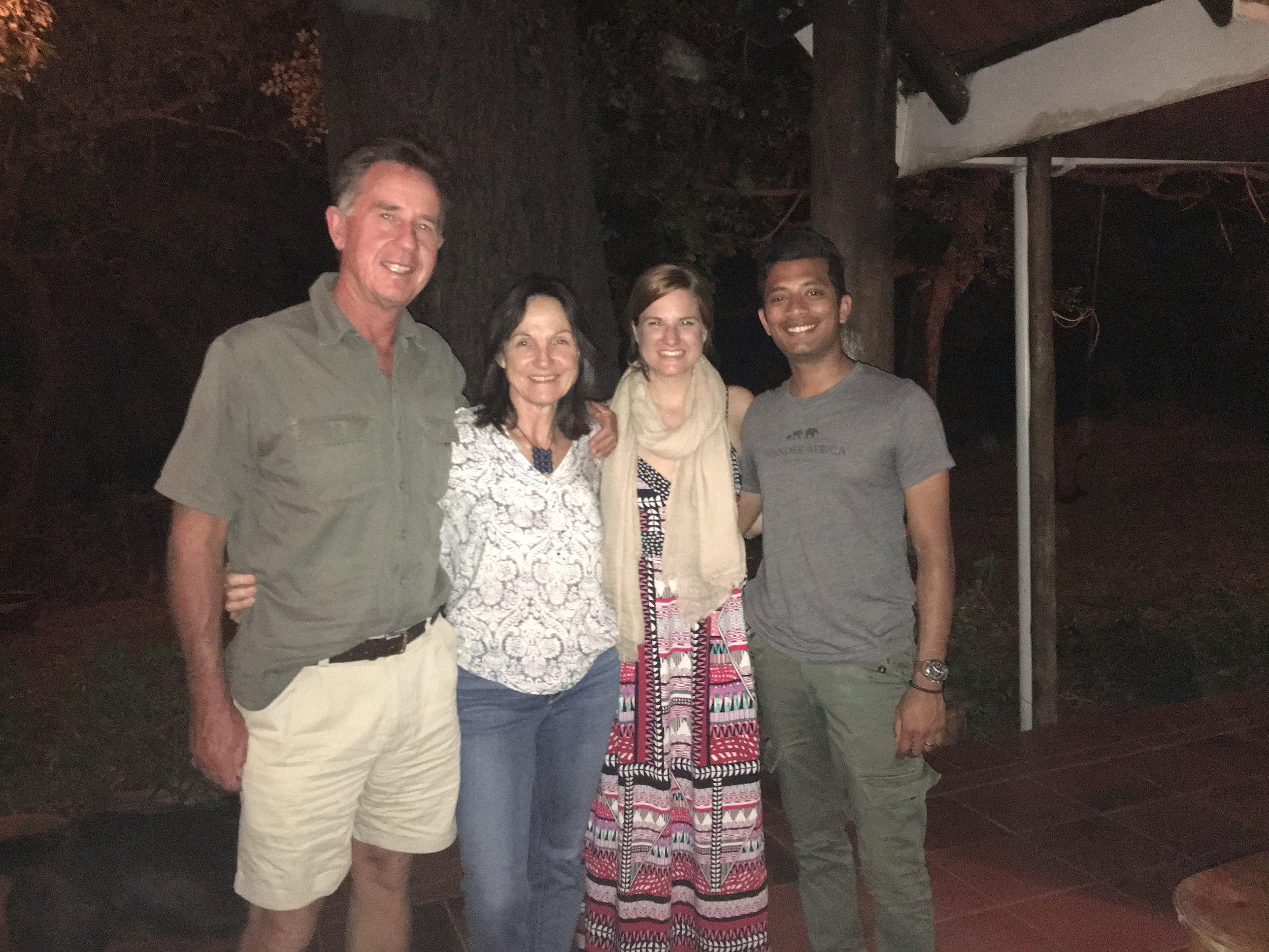 Legendary guide David and Robyn Foot of David Foot Safaris