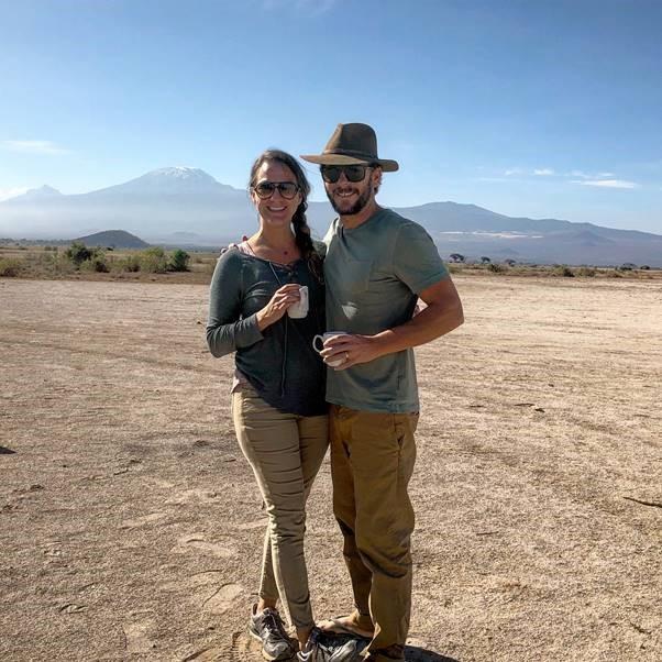 Tia and Zeb on Safari in Amboseli.jpg