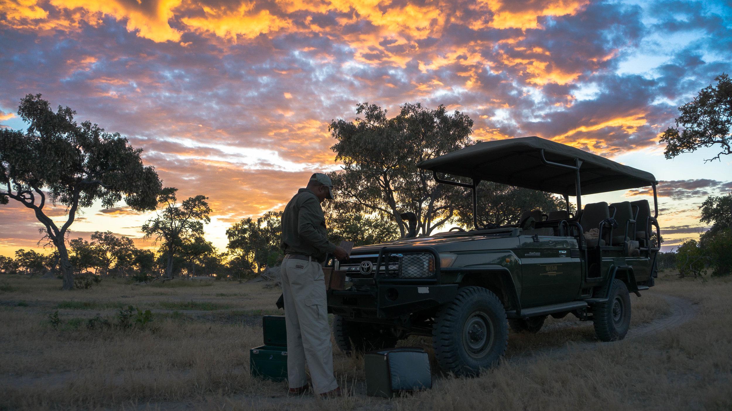 Botswana sundowner