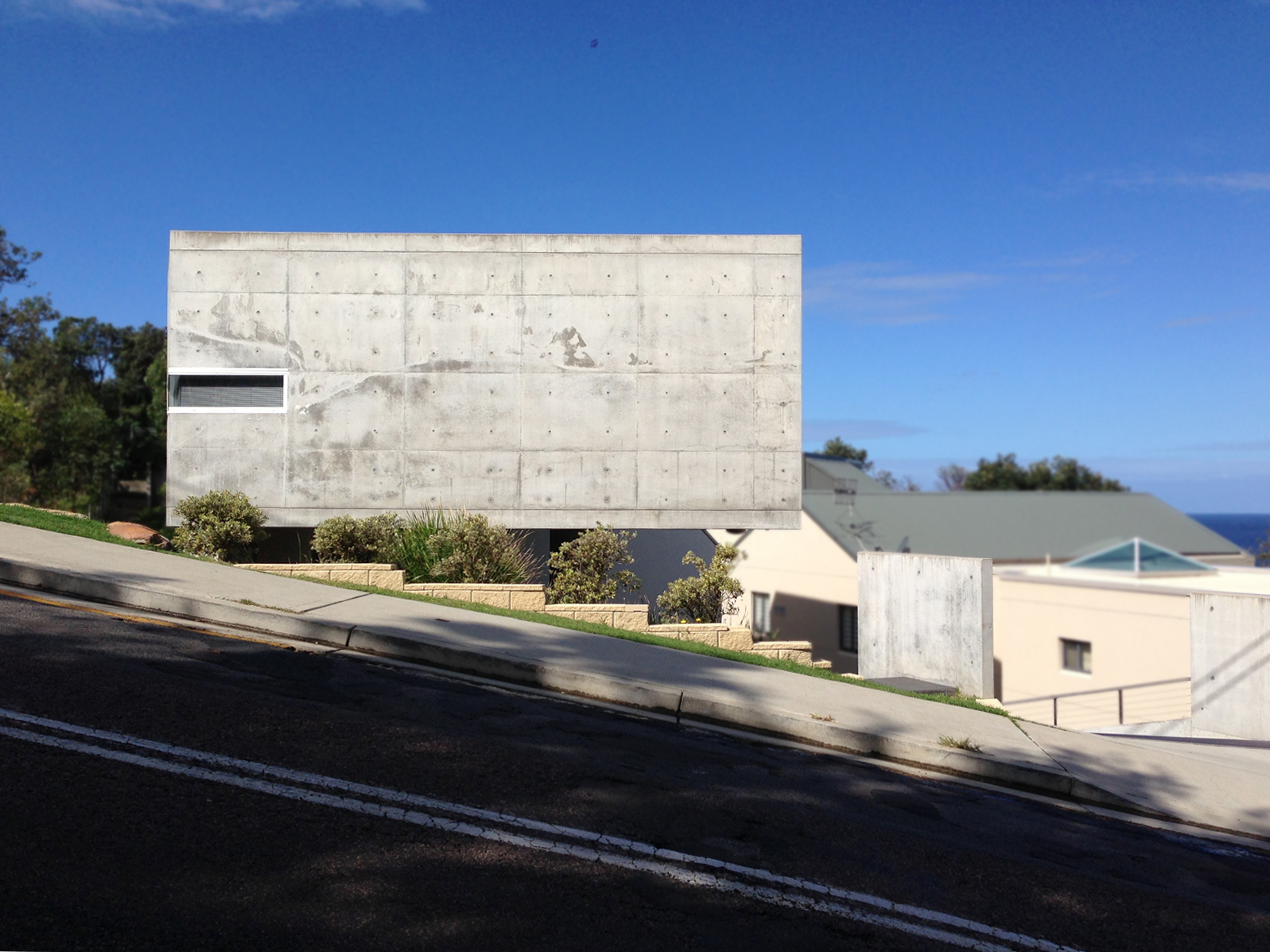 Forresters Beach Concrete House