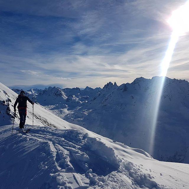 ...what a day! Unterwegs mit @mike_marte und  @rohrmoserandi  #FGSG #wickedruffneckcrew #kaestleski #forskiers