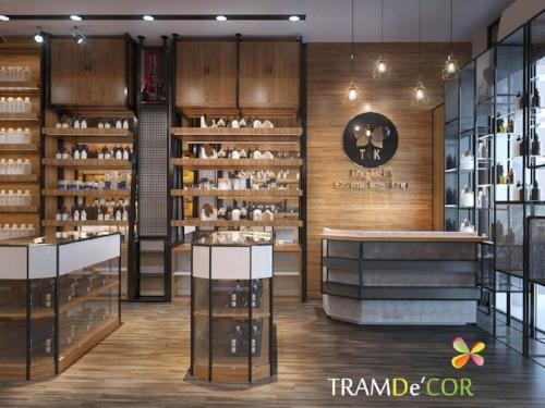 TK Shop - Thiết Kế Cửa Hàng Rượu tại HCM