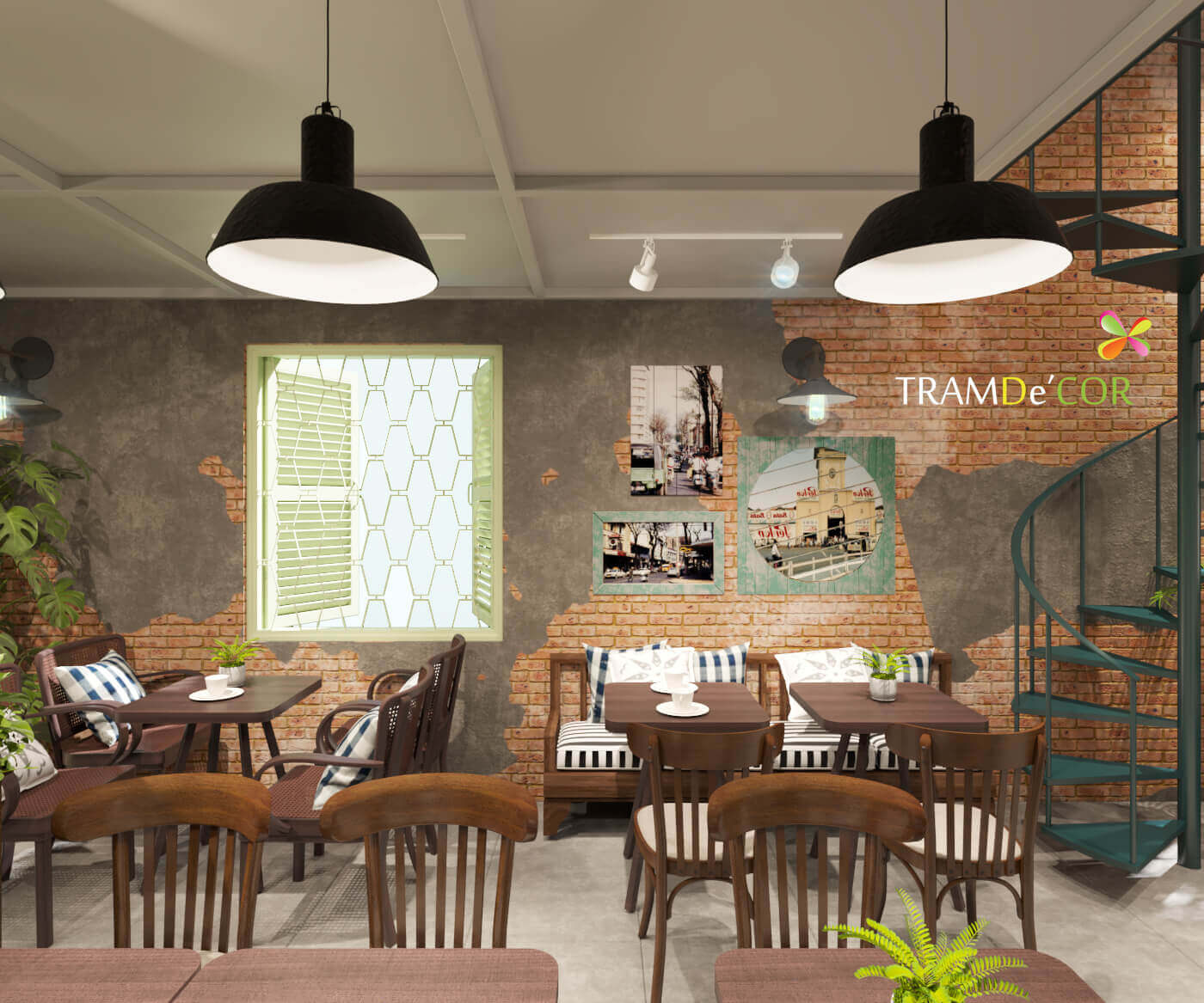 Thiết kế quán cafe tại quận 7