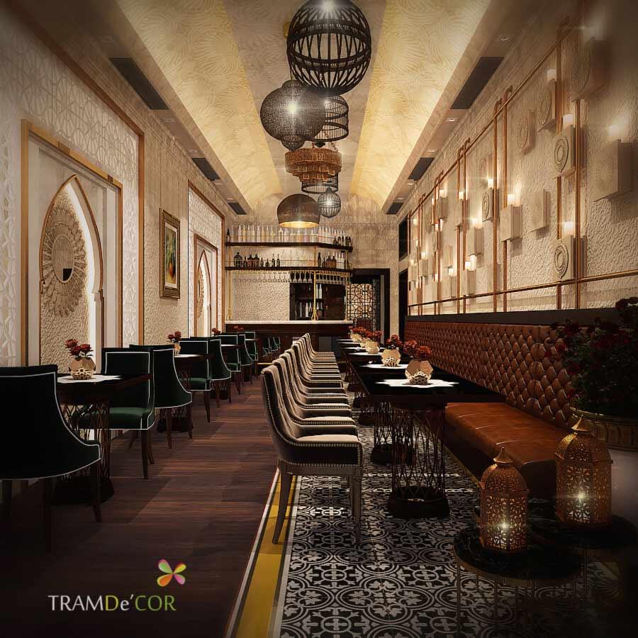 Nhà hàng phong cách châu âu Parivar