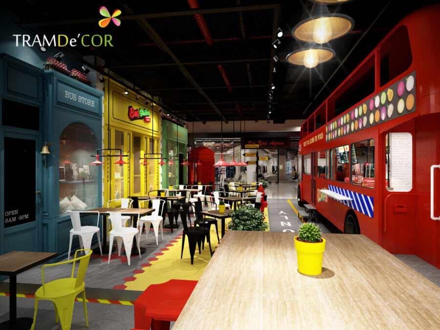 Nhà hàng Bus Station tại Bình Tân