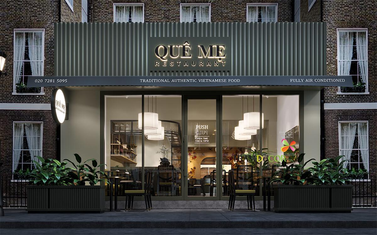 Nhà hàng Quê Mẹ tại Luân Đôn