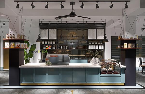THIẾT KẾ nội thất cafe PHONG CÁCH công nghiệp - Đến với những quán cafe mang hơi hướng của loại hình thiết kế này, chúng ta thường thấy đồ nội thất đa phần làm bằng kim loại với kiểu dáng tối giản. Đôi khi đồ nội thất bằng gỗ được sử dụng thêm vào nhằm xóa tan sự tẻ nhạt của không gian. Những đường ống nước được phô bày một cách nghệ thuật là một đặc điểm dễ nhận thấy ở phong cách thiết kế công nghiệp