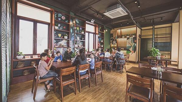 THIẾT KẾ THI CÔNG QUÁN CAFE