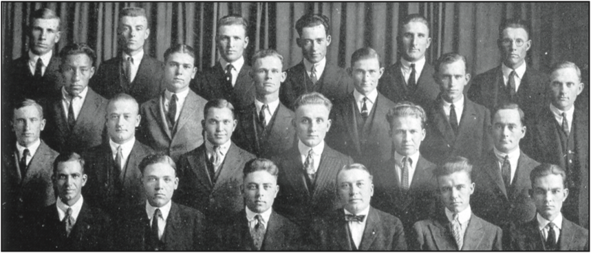 The Alpha Chapter - 1921