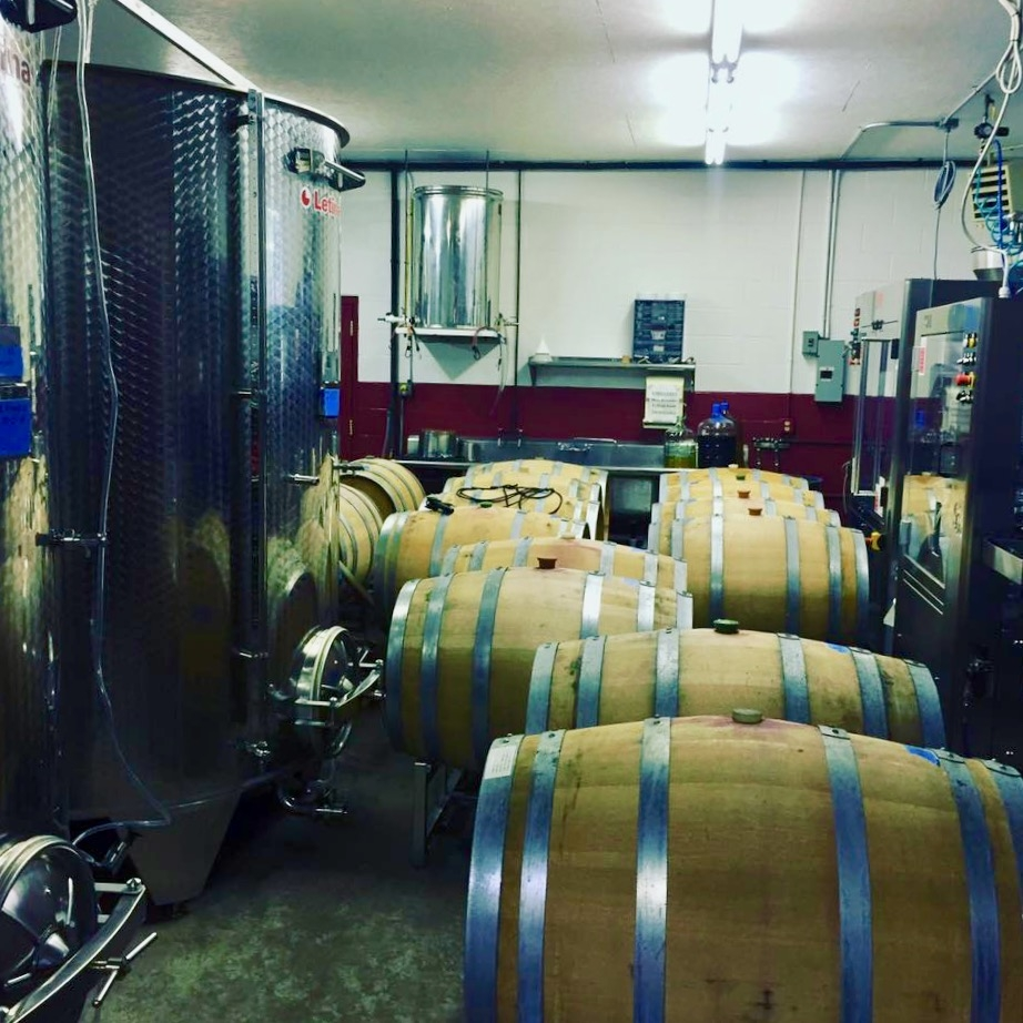 Transferring to oak barrels
