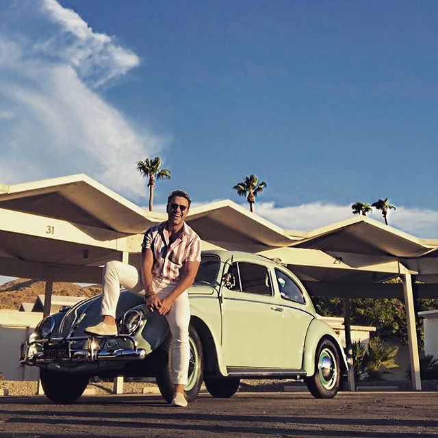 Love Bug. #newtoy #vw #classicbeetle #palmsprings #palmspringslife #california