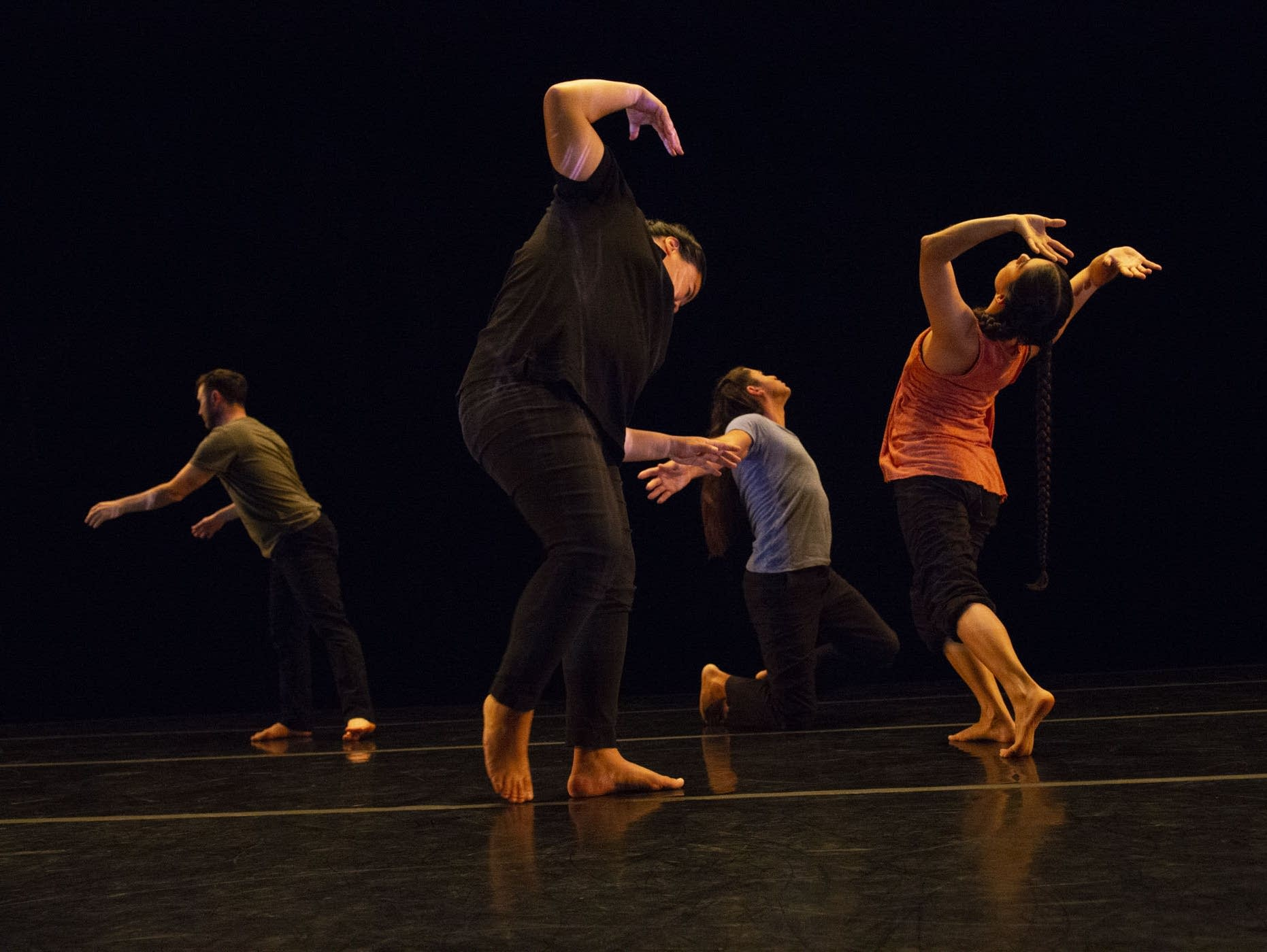"""Rosy Simas Danse will perform """"Weave"""" at the Ordway in St. Paul on Saturday. """"Weave"""" is inspired by the interdependent nature of our world. Courtesy of Douglas Beasley"""