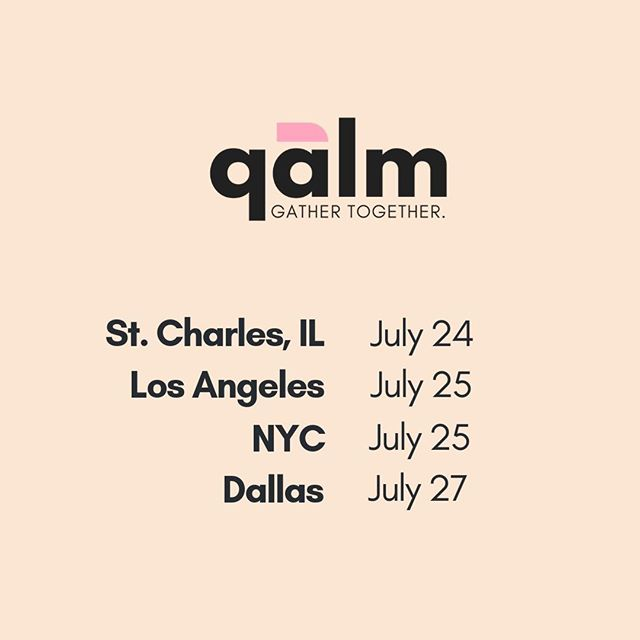 July is a big month -- we're having our very first qalm gatherings in Illinois, Los Angeles, and Dallas. And continuing where our gatherings here in NYC. We'd love to see you if you're in any of those cities -- click the link in our bio to get your ticket! . . . . . . . #brooklyn #nyc #introvert #introverted #introvertlife #solitude #instaqueer #instagay #lgbtpride #lgbt #queercommunity #queerwomen #queeraf #queerpoc #soberqueer #queeret #queerlife #sobercurious #soberlife #sobercommunity #questions #queerintroverts #queerintrovert #mindfulmonday #dallas #losangeles