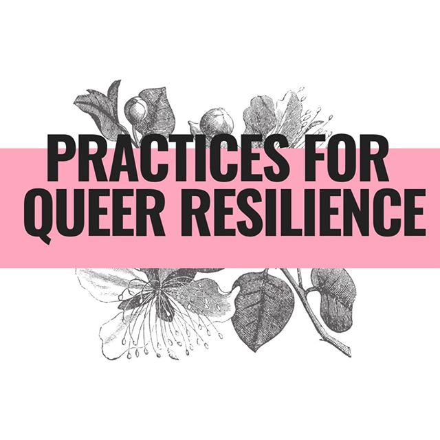 Practices for Queer Resilience is a FREE, 7-day email qourse that we wanted to share with all of you. Over the 7 days, you'll meet queer folks who have cultivated practices that enrich their lives. This series will help you set aside time to reflect + create or strengthen your own resilience practice. . Tangible, heart-centered ways to face the challenges of being queer in this world. LINK IN BIO! Follow & send love to @keipence @consciousenneagram @thirdeyespaceship @emenas43 @brownsugahealing @aroadtriptolove @heartvisioncoaching. . . . . . #brooklyn #nyc #introvert #introverted #introvertlife #solitude #instaqueer #instagay #lgbtpride #lgbt #queercommunity #queerwomen #queeraf #queerpoc #soberqueer #queeret #queerlife #sobercurious #soberlife #sobercommunity #introverts #queerintroverts