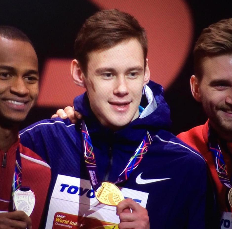 Danil Lysenko - Gold Medalist - Mens High Jump 2018