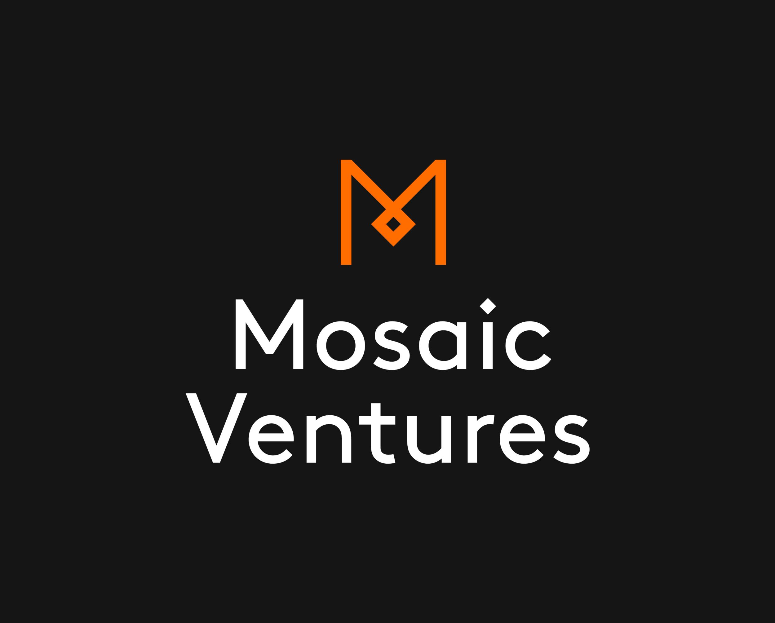 Mosaic Ventures / Logo / Dark. Download:  PNG