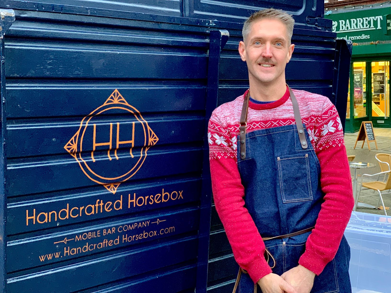 Jon - 'The Boss', expert in all things alcoholic and creator of the Handcrafted Horsebox. Jon has a wealth of experience in both hospitality and marketing and has a well-earned reputation for getting the party started, if there is a drink worth drinking he will know how to pour it!