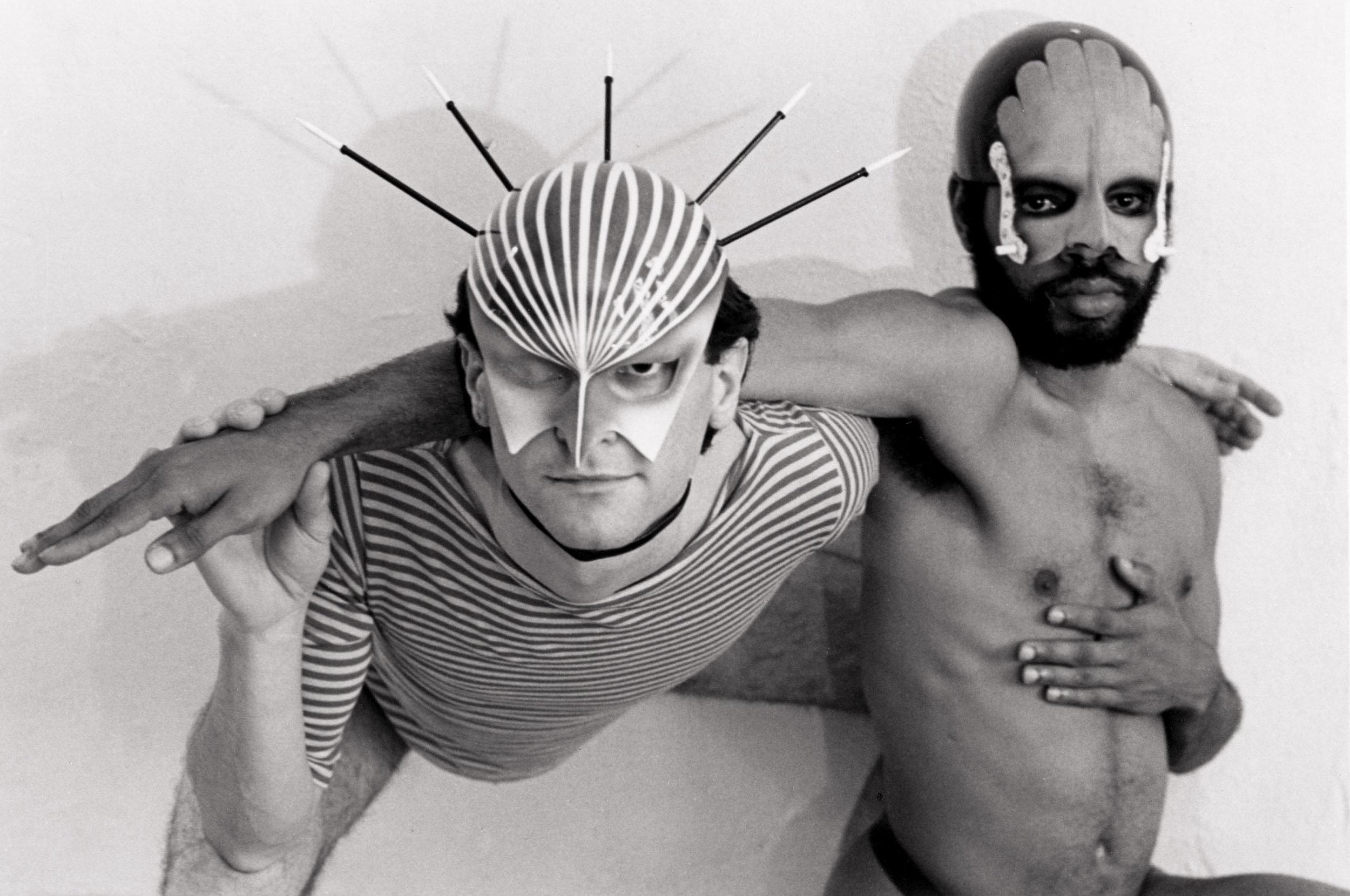 Michael Biello and Ishmael Houston-Jones,  Two Men Dancing , 1980