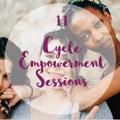 1:1 Cycle Empowerment Session - These sessions are designed to help you to understand your own female cycle patterns better and live in tune with your menstrual cycle making use of your energy more sufficiently.Online or in person