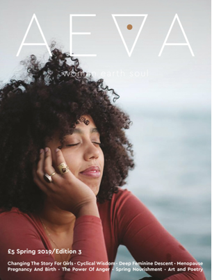 - AEVA is an independent magazine from the UKcreated by Isabella Lazlo.AEVA brings's the voices of the healers, the activists, the artists, the lovers, the mothers, the warrior hearted fierce protectors, the midwives and the dreamers, the daughters, sisters, the grandmothers and the great great great grandmothers.https://www.aevamagazine.co.uk