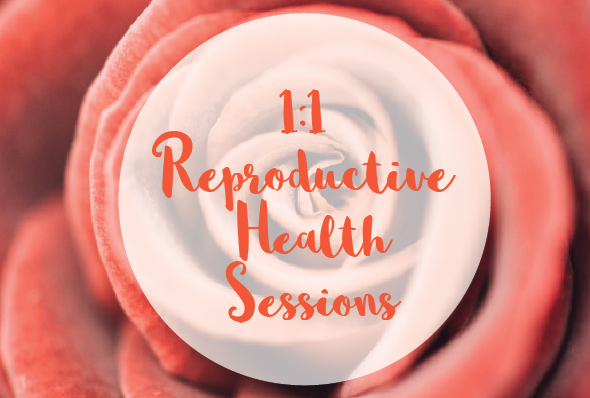 1:1 Reproductive Health Sessions - These sessions connect and support your bodies to heal and regenerate naturally or empowering you in the process.Online or in person