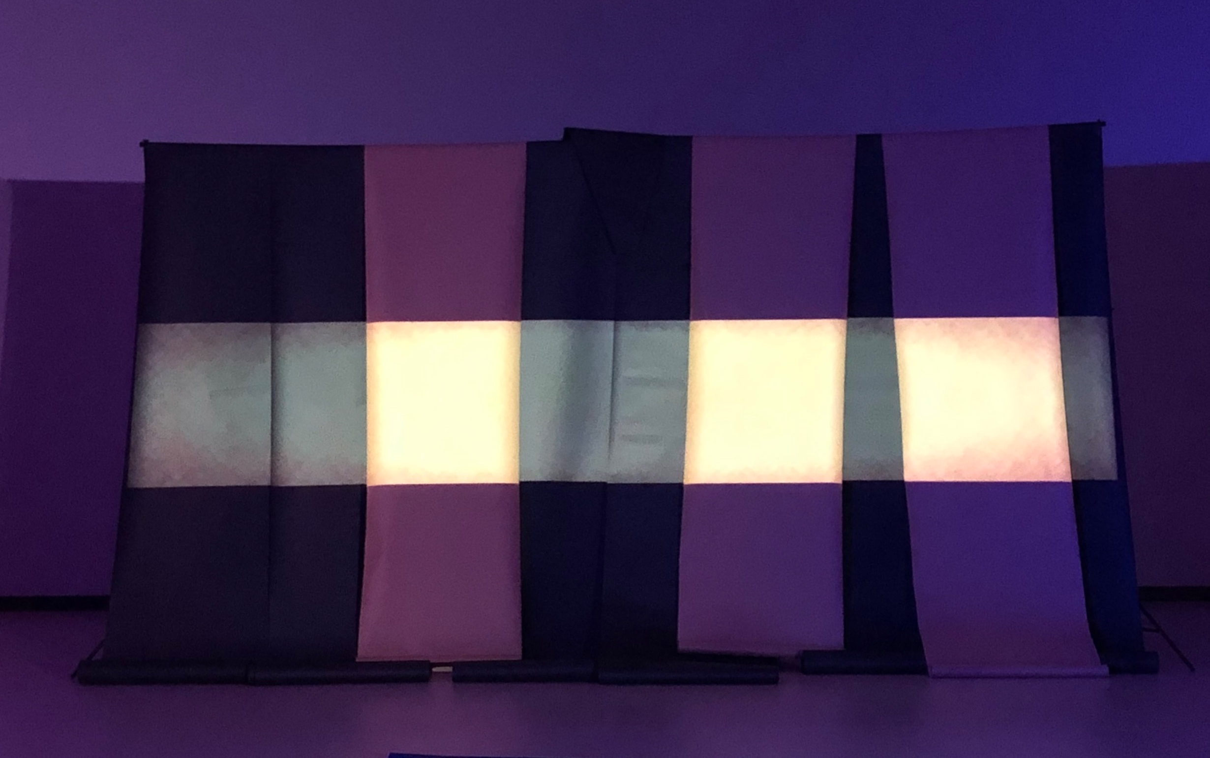 Set Piece / Two Row  Film from Simas'  Weave  - photo by rosy simas