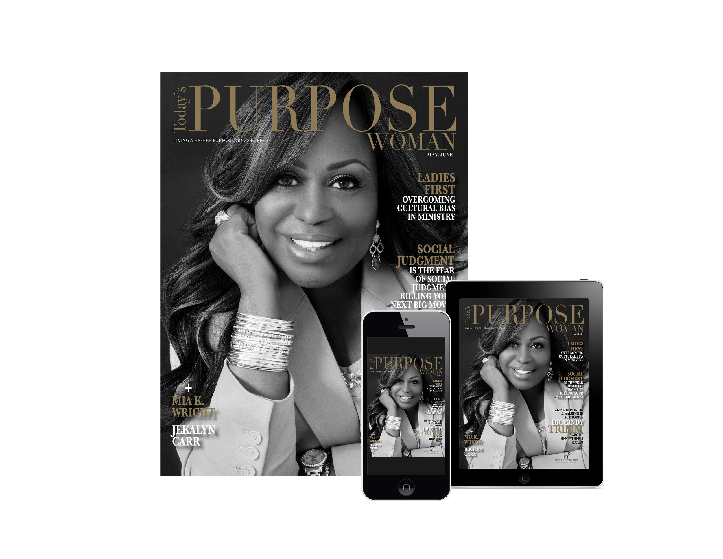 Print Advertising - Print is still alive! Elevate your brand or ministry in Promoting Purpose Media's influential bi-monthly print magazine-Today's Purpose Woman. Readers are purpose-driven women who anticipate each printed issue knowing they will receive inspiration, strategies on living a higher purpose and the opportunity to connect with ministries and purpose-driven brands through professional ads and advertorials.To create a balance between technology and tradition, the print magazine has a digital edition giving readers, brands and ministries the best of both worlds.
