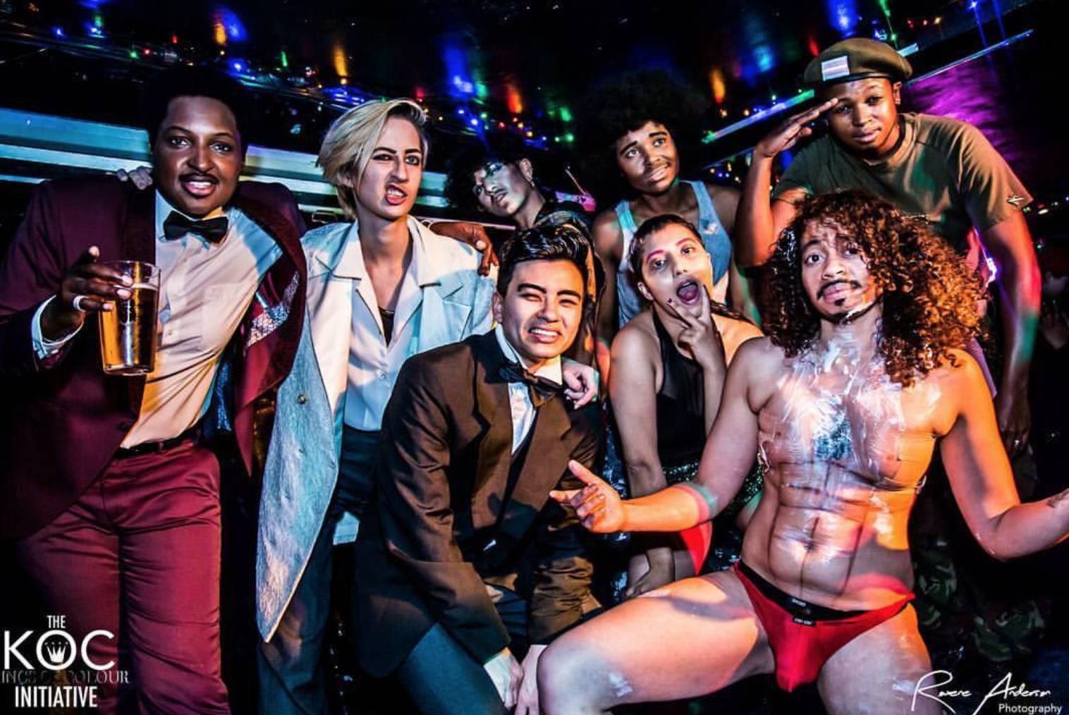 Meet Kings of Colour , the drag kings taking on London