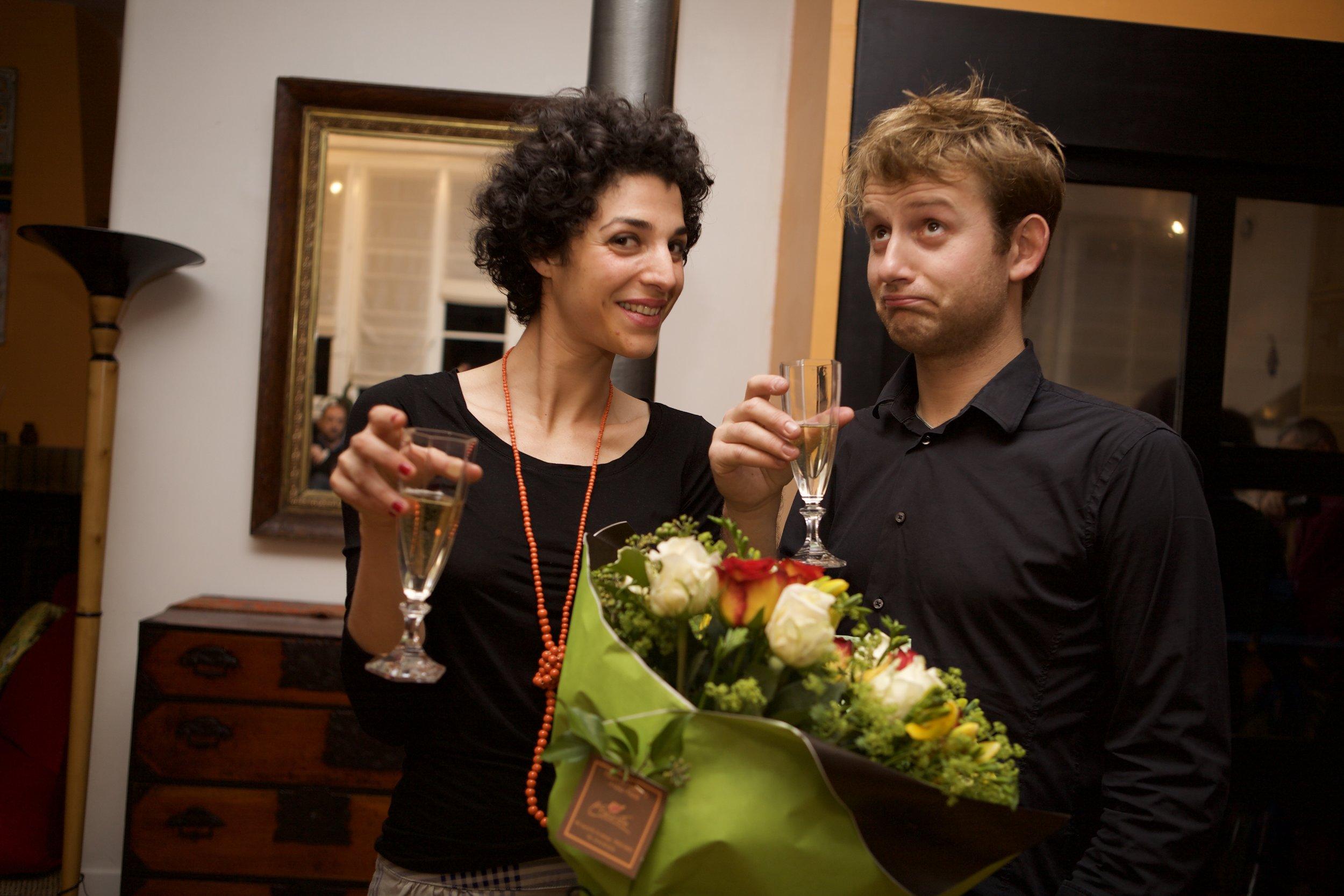 Concert inaugural de Katia Goldmann et lui, 5 Décembre 2009