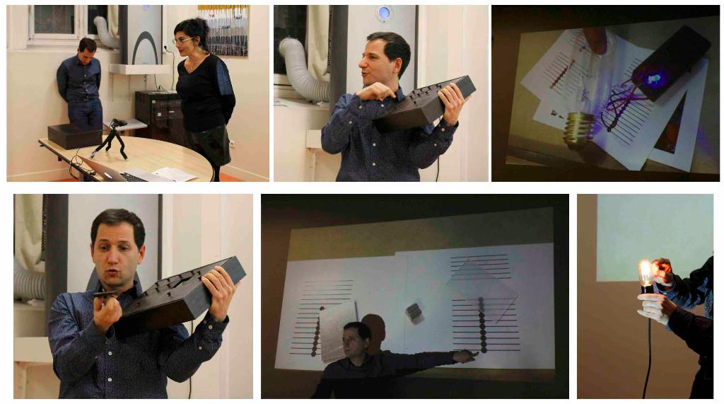 Le 24 janvier 2017, Pr Julien Bobroff nous a gratifiés d'une conférence ludique sur la physique quantique !