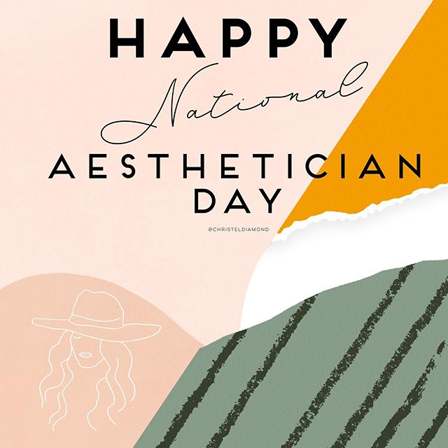 October 15, 2019! Happy National Aesthetician Day to all the fabulous esty's I know! . . . #nationalday #aesthetician #medspalife #hydrafacials #laserspecialist #dermaplaningfacial #chemicalpeels