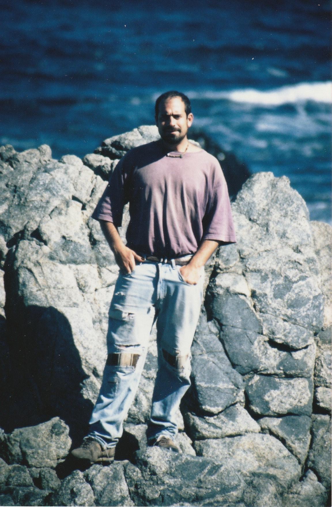 Mark at Isla Negra, 1999. Photo courtesy of the author.