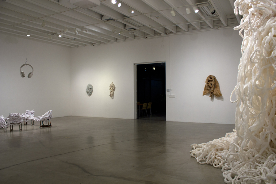 Temporary Shelter. MFA Thesis Exhibition. (2015)