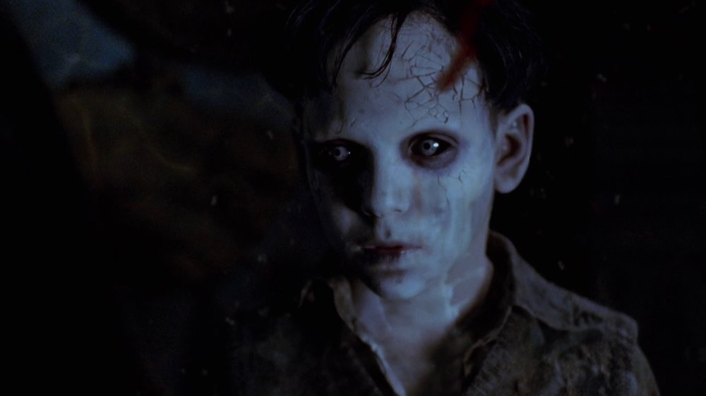 The Devil's Backbone - 2001, Guillermo del ToroAfter losing his father, 10-year-old Carlos (Fernando Tielve) arrives at the Santa Lucia School, which shelters orphans of the Republican militia and politicians, and is taken in by the steely headmistress, Carmen (Marisa Paredes), and the kindly professor, Casares (Federico Luppi). Soon after his arrival, Carlos has a run-in with the violent caretaker, Jacinto (Eduardo Noriega). Gradually, Carlos uncovers the secrets of the school, including the youthful ghost that wanders the grounds.