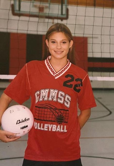 7th grade volleyball.
