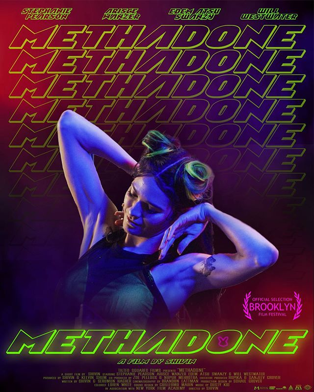 """Build it & they will come"" . . So proud yet humbled to announce that Methadone will make its WORLD PREMIERE at the 22nd @brooklynfilmfestival this June. #staytuned for more A special shout out to @_natgee and BFF team! . . . ""Methadone""  Staring @steph_pears  @ariscestocrat @willydubz & @edem.atsuswanzy  Written & Directed by @shivingrover  Co-Writer @asksaru  Produced by @kelvinkshum Nupur Mehrotra Cinematography by @brandonlattman  Production Design by @sunnymuchsohail  Music by Dusty Kid Costumes by @naikea_cheri  Make up @krs.top.her  Hair @little.bits.of.erica  A special thanks to @motorizedprecision @chapman_leonard @digitalsputnik  Shot on @reddigitalcinema . . @filmfreeway . #methadone #shortfilm #film #cinema #filmmaker #filmmakers #proofofconcept #webseries @primevideoin #underground #neon #vibe #losangeles #mumbai #bunny #saynotodrugs #filmfestivals #worldpremiere #bladerunner #neon #flashinglights #techno #trip"