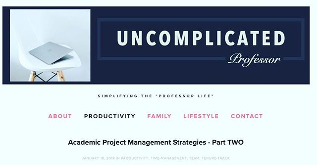 How can project management tools be used by academics to simplify your research workflow? My team has been using @asana  The second part of my January Research Productivity Series is up on the blog now (https://www.uncomplicatedprofessor.com/life/) #uncomplicatedprofessor #momlife #professorlife #simplify  #uncomplicated  #phd #gradstudent #undergrad #hope #optimism #accomplishment #university #mentoring #mentor #mentorship #leadership #bealeader #leadershipdevelopment #academicleadership #womenwholead #graduatestudents #theacademy #scholar #productivity #researchplan #timemanagment #email #todo #Asana #notsponsored