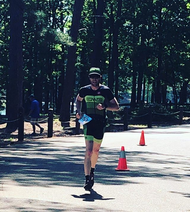 First 70.3 of the year and it was a tough and hilly course. 807 feet of elevation gain run after a ride with over 2,500?! It hurt but glad to take home 11th place. Happy to rep the @envecomposites team, those wheels are sweet. #irideenve #skratchlete #triathlon #cycling #swimbikerun