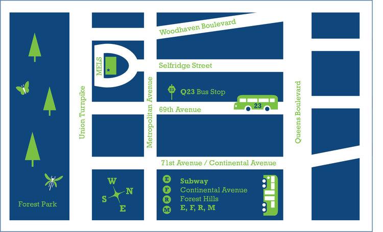 Maps — Jane Sanders Illustration Q Bus Map on