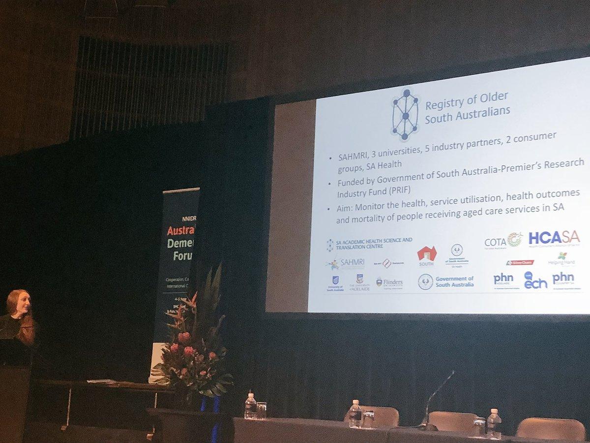Dr Stephanie Harrison Australian Dementia Forum, June 2018
