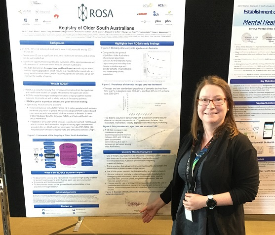 Dr Sarah Bray, Health Translation SA MRFF Showcase 2018