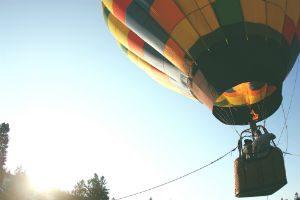 Bucket list item - ride in a hot air balloon