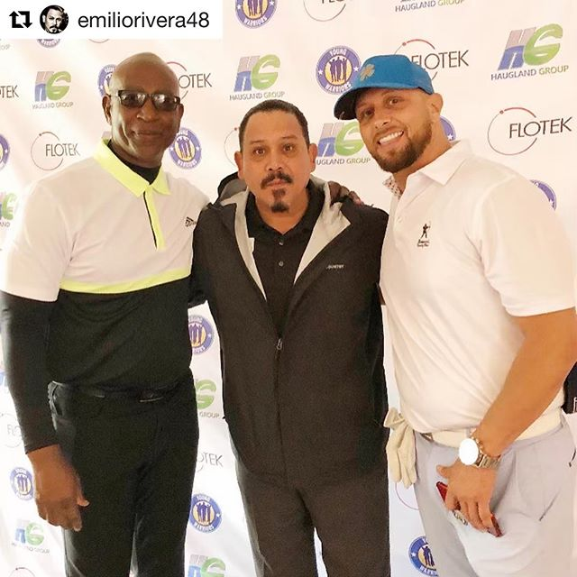 #Repost @emiliorivera48 ・・・ Had a great time at @ericdickerson29 @youngwarriorsla golf tournament,Great day for a Beautiful Cause ,being a football fan and hanging out with some legends of the game and favorite players made me feel like a kid again as the kids we are helping out with this foundation. Thank You @realjayhill @1on1pr for the invite look forward to the next one.  @toi.cook41 #emiliorivera #marcusallen #youngwarriors #ericdickerson #jayhill #mentorship #legendsgolftournament #golf