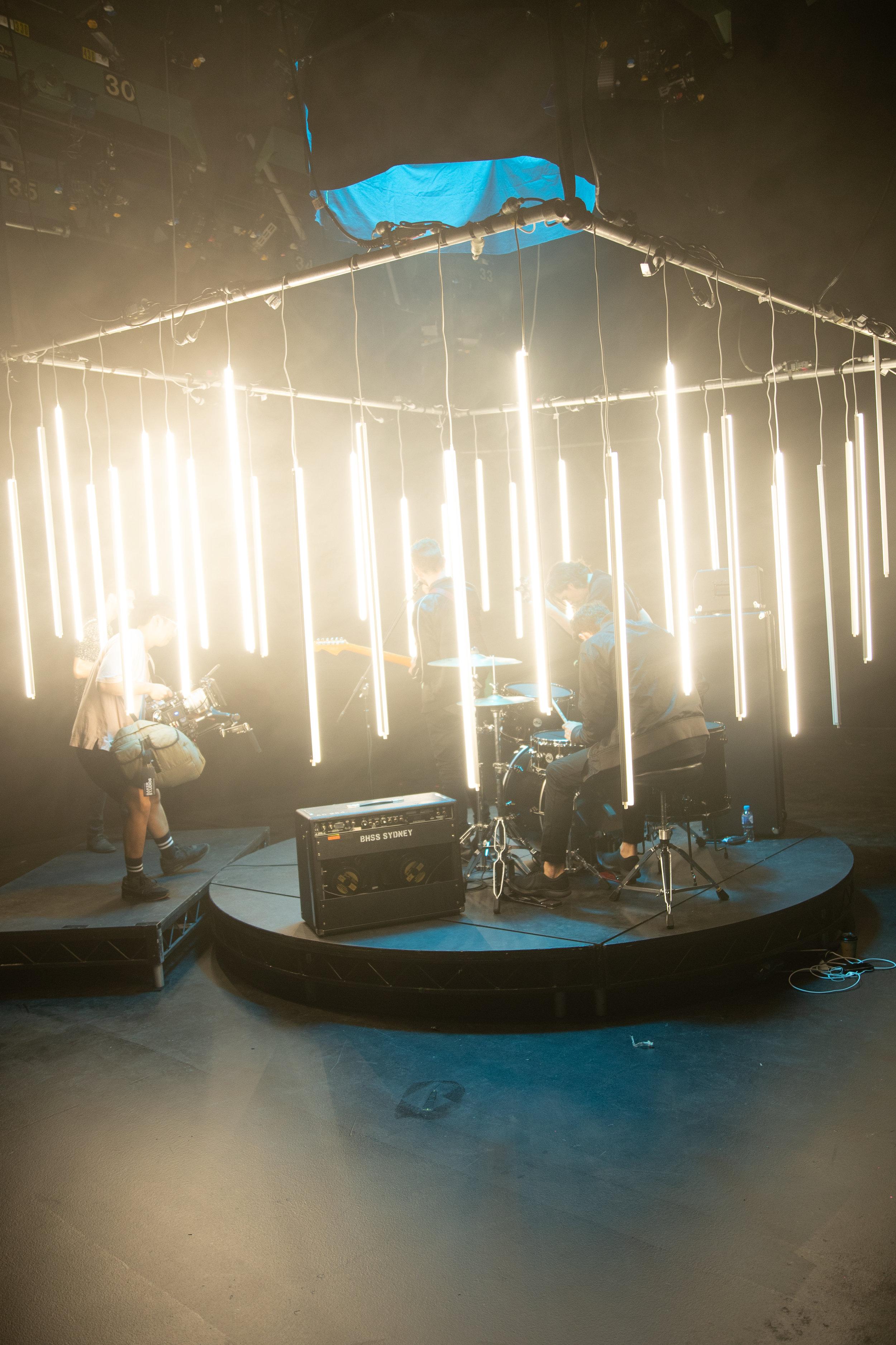 Killa Kreative lighting rig music video