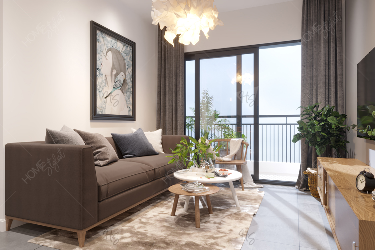 Mẫu thiết kế căn hộ chung cư hiện đại