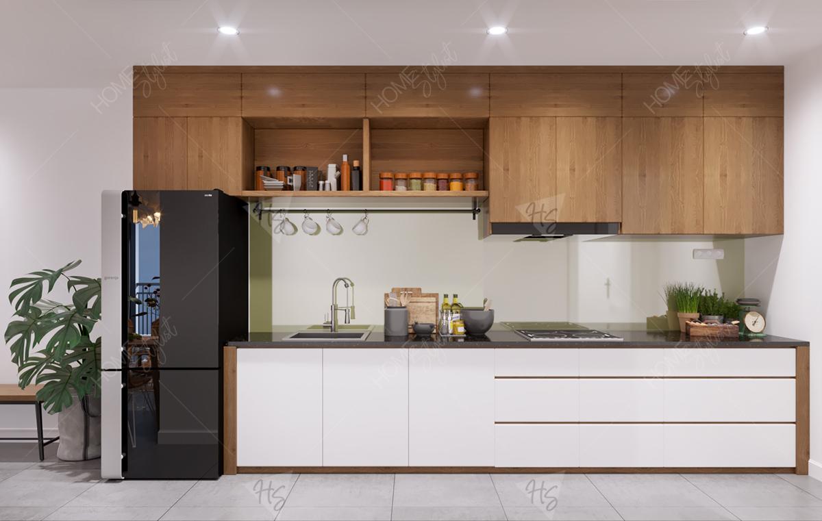 Nội thất phòng bếp tiện nghi sang trọng