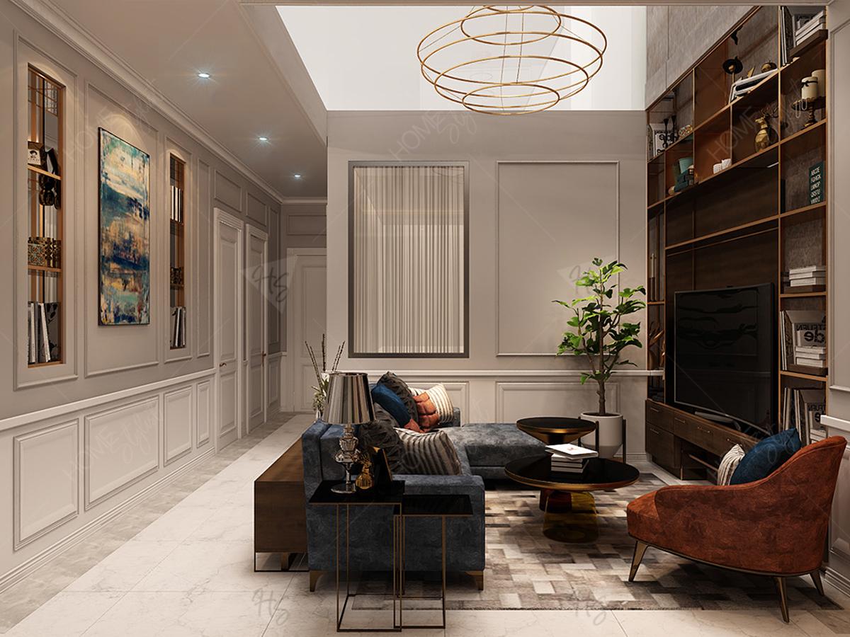Phòng khách tại lầu 3