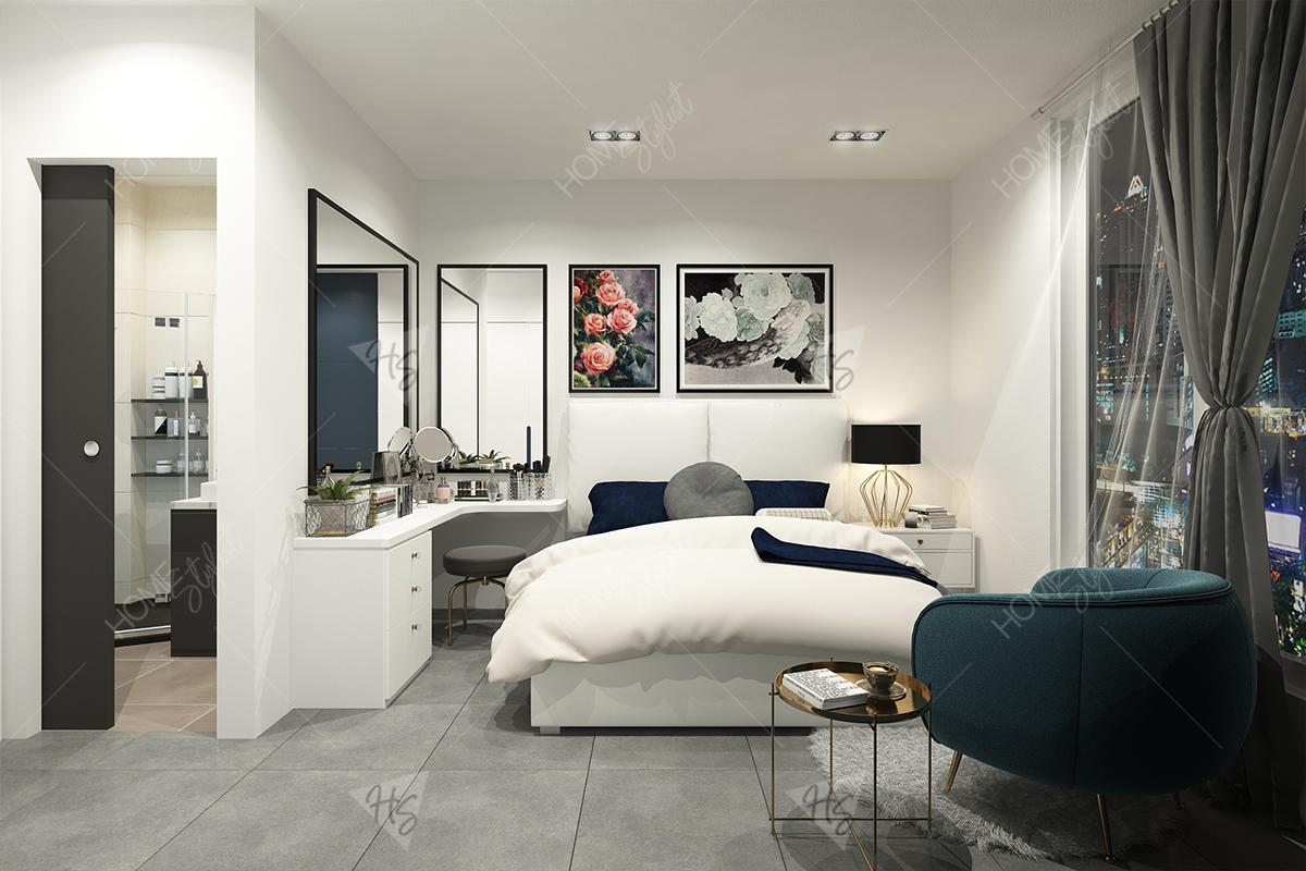 Sử dụng chất liệu thô mộc trong cách trang trí căn hộ